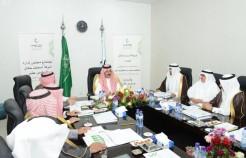 الأمير عبدالعزيز بن سعد يرأس اجتماع شركة أسمنت حائل