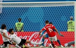 الفراعنة يسقطون أمام الدب الروسي بـ 3 أهداف مقابل هدف