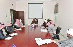 وكيل إمارة حائل يرأس اجتماع اللجنة المحلية لتعداد السعودية 2020