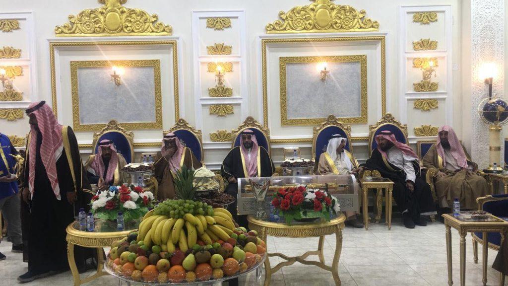 """""""مبارك البلوى وإخوانه"""" يحتفلون بزواج سلطان"""