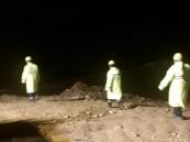 """مواطنون يعثرون على جثة أحد مفقودي """"وادي عتود"""" ..فيديو"""