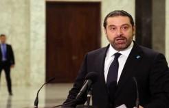 الحريري يتعهد من وسط بيروت بالدفاع عن استقرار لبنان